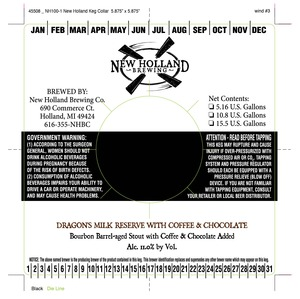 New Holland Brewing Company Dragon's Milk Reserve Chocolate & Coffee