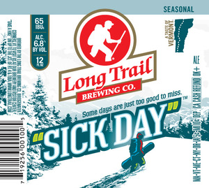 "Long Trail Brewing Co. ""sick Day"""