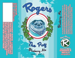 Rogers The Pug Blueberry Ale