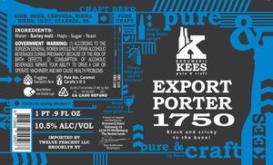 Kees Export Porter 1750