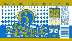 West Sixth Brewing Danke Chain Oktoberfest