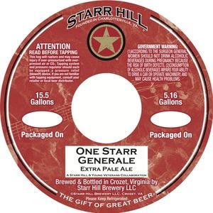 Starr Hill One Starr Generale