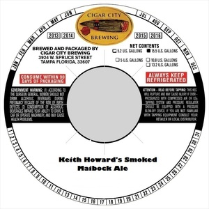 Keith Howards Smoked Maibock