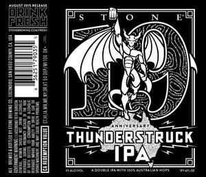 Stone 19th Anniversary Thunderstruck IPA