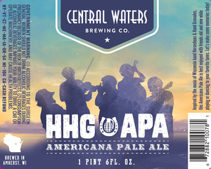Central Waters Brewing Company Hhg Apa