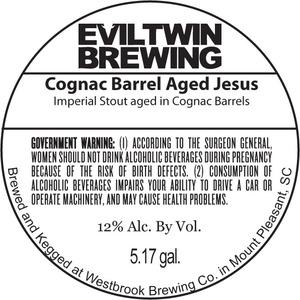Evil Twin Brewing Cognac Jesus
