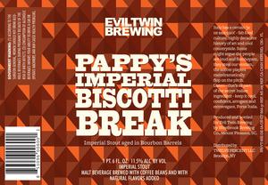 Evil Twin Brewing Pappy's Imperial Biscotti Break
