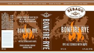 Sebago Brewing Company Bonfire Rye