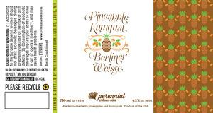 Perennial Artisan Ales Pineapple Kumquat Berliner Weisse