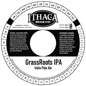 Ithaca Beer Company Grassroots IPA