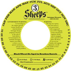 3 Sheeps Brewing Co. Baaad Boy Bourbon Barreled