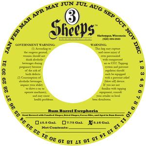 3 Sheeps Brewing Co. Ewephoria Aged In Rum Barrels