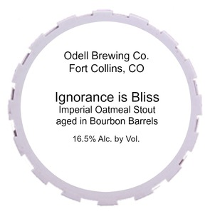 Odell Brewing Company Ignorance Is Bliss