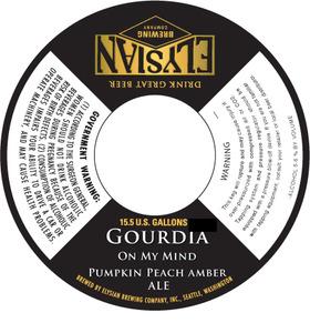 Elysian Brewing Company Gourdia On My Mind