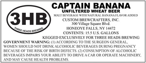 Three Heads Brewing Captain Banana