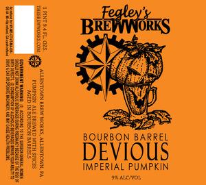 Fegley's Brew Works Bourbon Barrel Devious