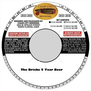The Bricks 5 Year Beer