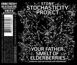Stone Stochasticity Project Your Father Smelt Of Elderberries