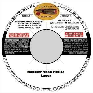 Hoppier Than Helles