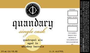 River North Brewery Quandary Single Cask