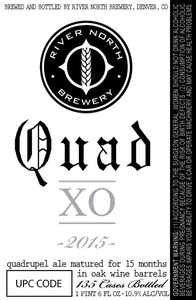 River North Brewery Quad Xo