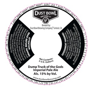 Dump Truck Of The Gods Imperial Pale Ale