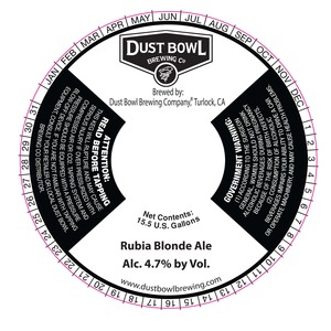 Rubia Blonde Ale