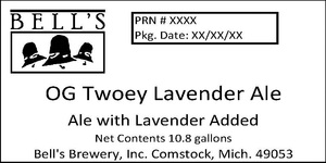 Bell's Og Twoey Lavender Ale
