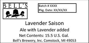 Bell's Lavender Saison Ale