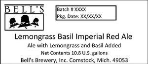 Bell's Lemongrass Basil Imperial Red Ale