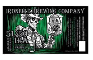Ironfire Brewing Company 51/50 IPA
