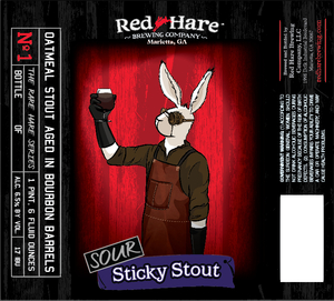 Red Hare Sour Sticky Stout
