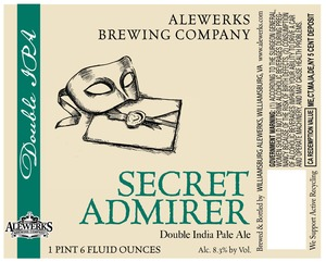 Williamsburg Alewerks Secret Admirer