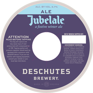 Deschutes Brewery Jubelale July 2015