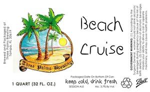 Three Palms Brewing Beach Cruise
