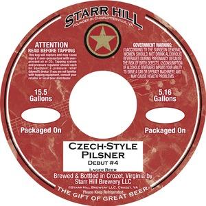 Starr Hill Czech Style Pilsner