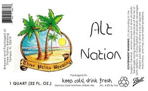 Three Palms Brewing Alt Nation