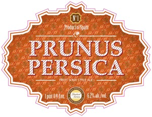Sesma Brewing Co. Prunus Persica