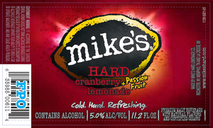 Mike's Hard Cranberry + Passion Fruit Lemonade