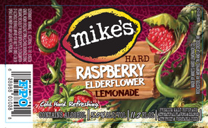 Mike's Hard Raspberry Elderflower Lemonade
