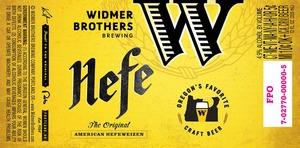 Widmer Brothers Brewing Company Hefe