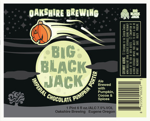 Oakshire Brewing Big Black Jack