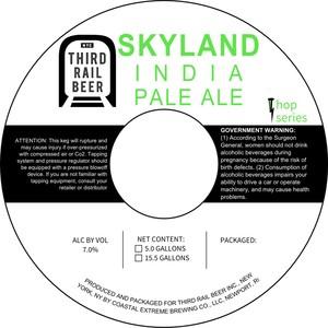 Third Rail Beer Skyland