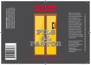 Evil Twin Brewing Pils Al Pastor