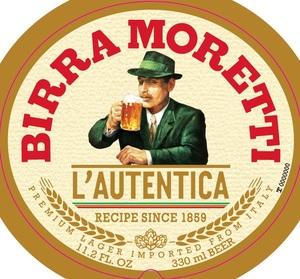 Birra Moretti L'autentica