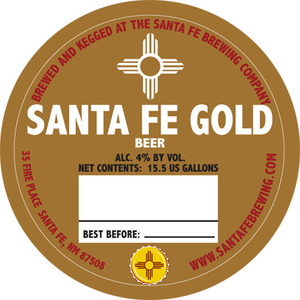 Santa Fe Brewing Co. Santa Fe Gold