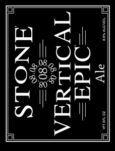 Stone 08 Vertical Epic Ale