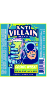Anti Villain Ale Co. Cosmic Wheat