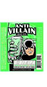 Anti Villain Ale Co. 8 Bit