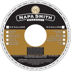 Napa Smith Brewery Bonfire